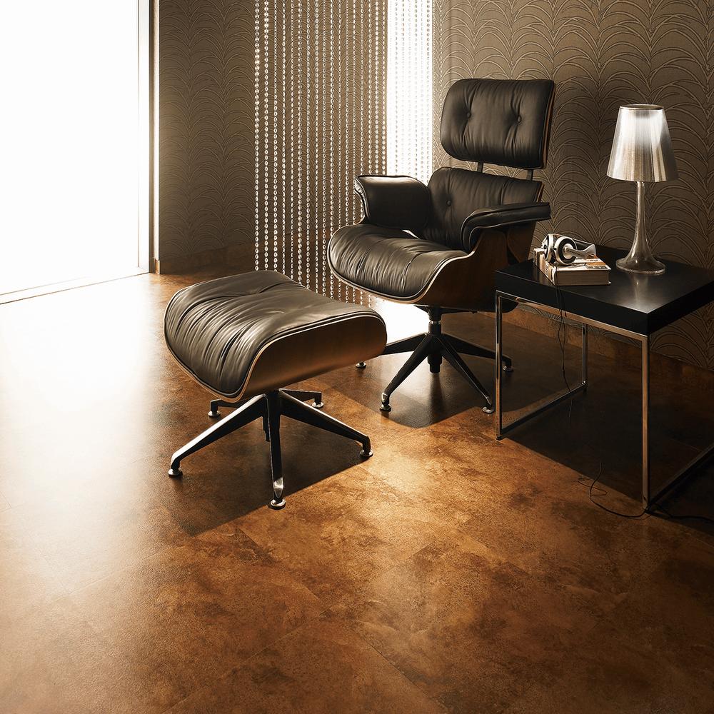 高級感あふれるタイル系床材 サンゲツによる無料素材