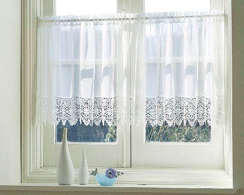 出窓 カフェカーテン