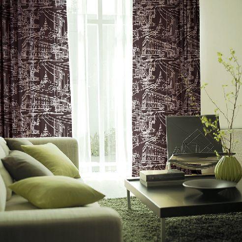 マチナミ 遮光2級北欧カーテン