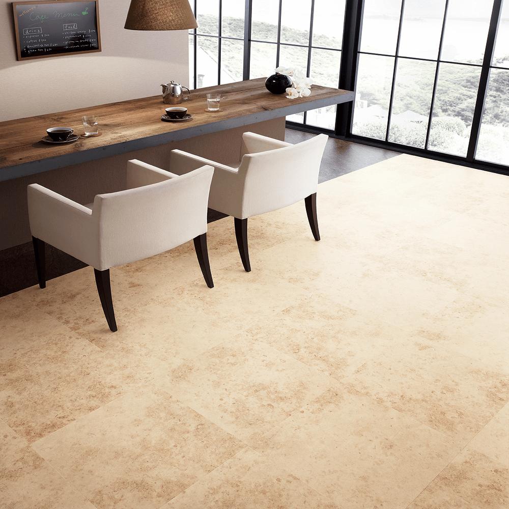 カフェで使われているようなタイル系床材 サンゲツによる無料素材
