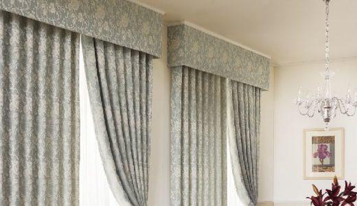 (上飾り)カーテンバランス|基本の縫製スタイルと特徴