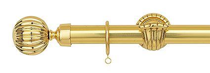 カーテンレール クラシコゴールド28 Aキャップ