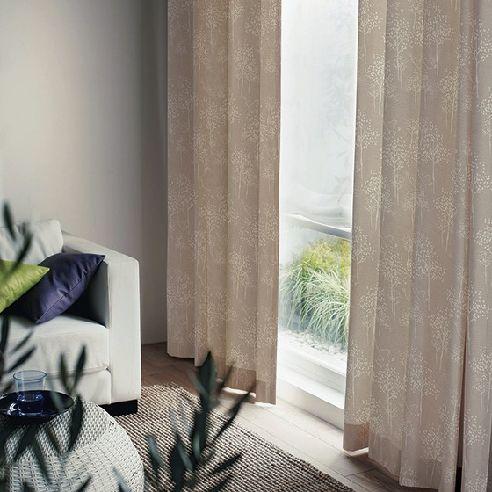 トリノサンポ 遮光3級北欧カーテン