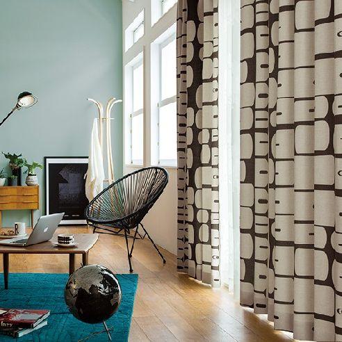 モリノキ 遮光3級北欧カーテン