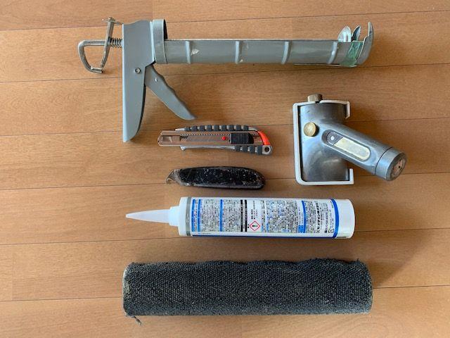 サンゲツノンスキッドの工具