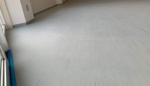 【Pタイル】プロが教える施工方法!貸店舗の床に上張りしました