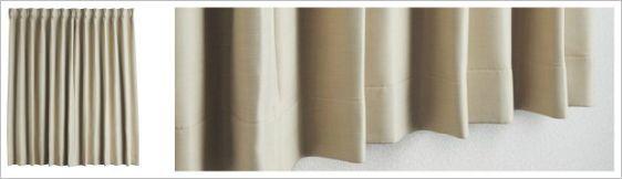 カーテン スタンダード縫製