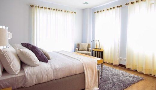 【寝室のカーテン事例】写真でイメージするお洒落なベッドルーム【50選】
