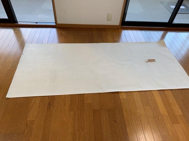 剥がした壁紙