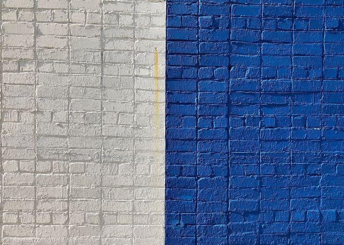 壁紙の変色
