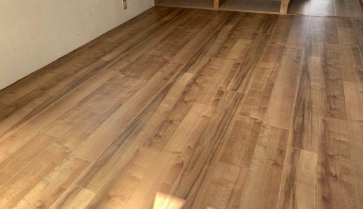 【最安値】和室の畳をフローリングにしたいならクッションフロア