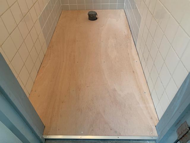 トイレのクッションフロア施工前