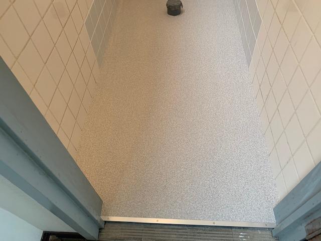 トイレのクッションフロア完成写真