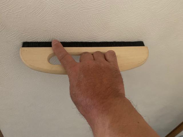 壁紙の空気を抜く