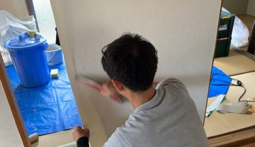 【貼り方講座】ドア・建具に壁紙(クロス)を貼る手順「ⅮⅠY」
