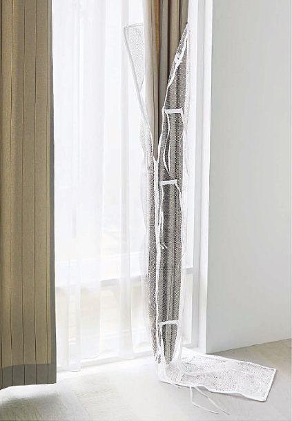 スミノエのカーテン専用洗濯ネット