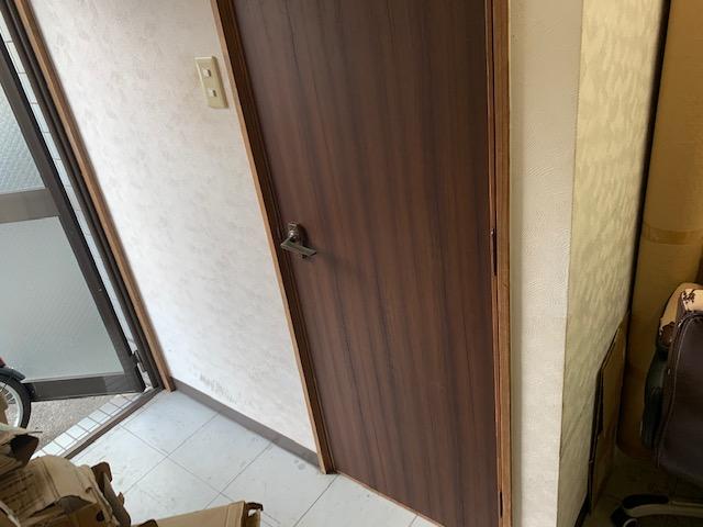 リアテックを貼った室内ドア