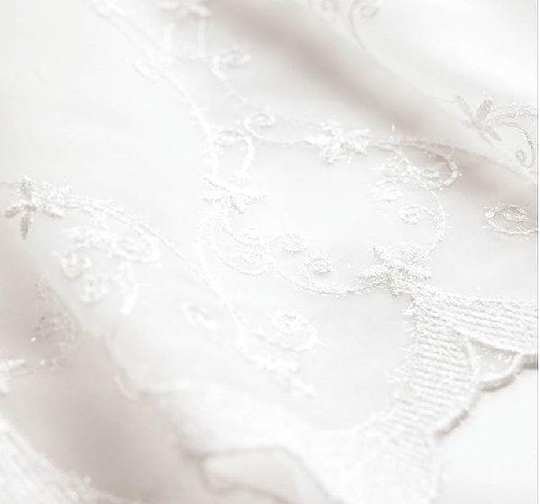 アンティークな刺繍柄レースカーテン ls62345