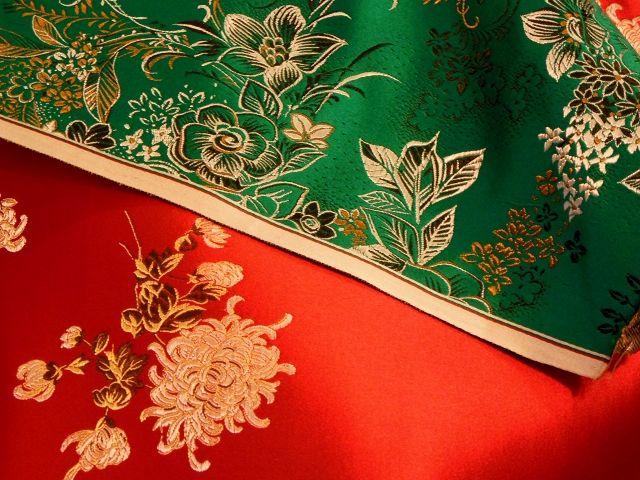 カーテンの天然繊維と化学繊維