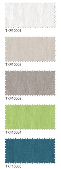 麻100%のオーダーカーテン tkf10001 tkf10002 tkf10003 tkf10004 tkf10005