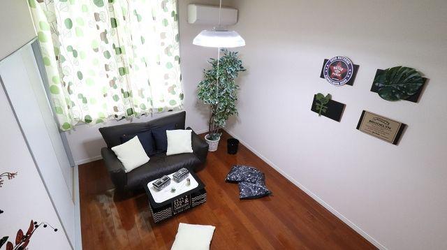 一人暮らしの男性の部屋