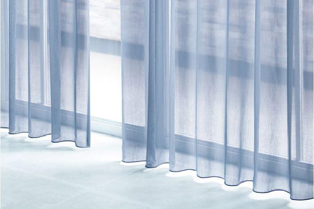 サンゲツレースカーテン sc3753 ネイビーブルー